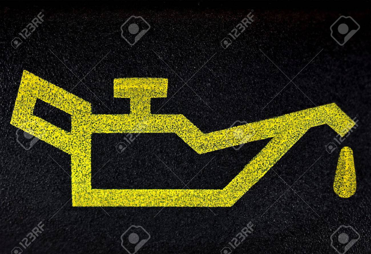 Motor oil symbol - 43699515