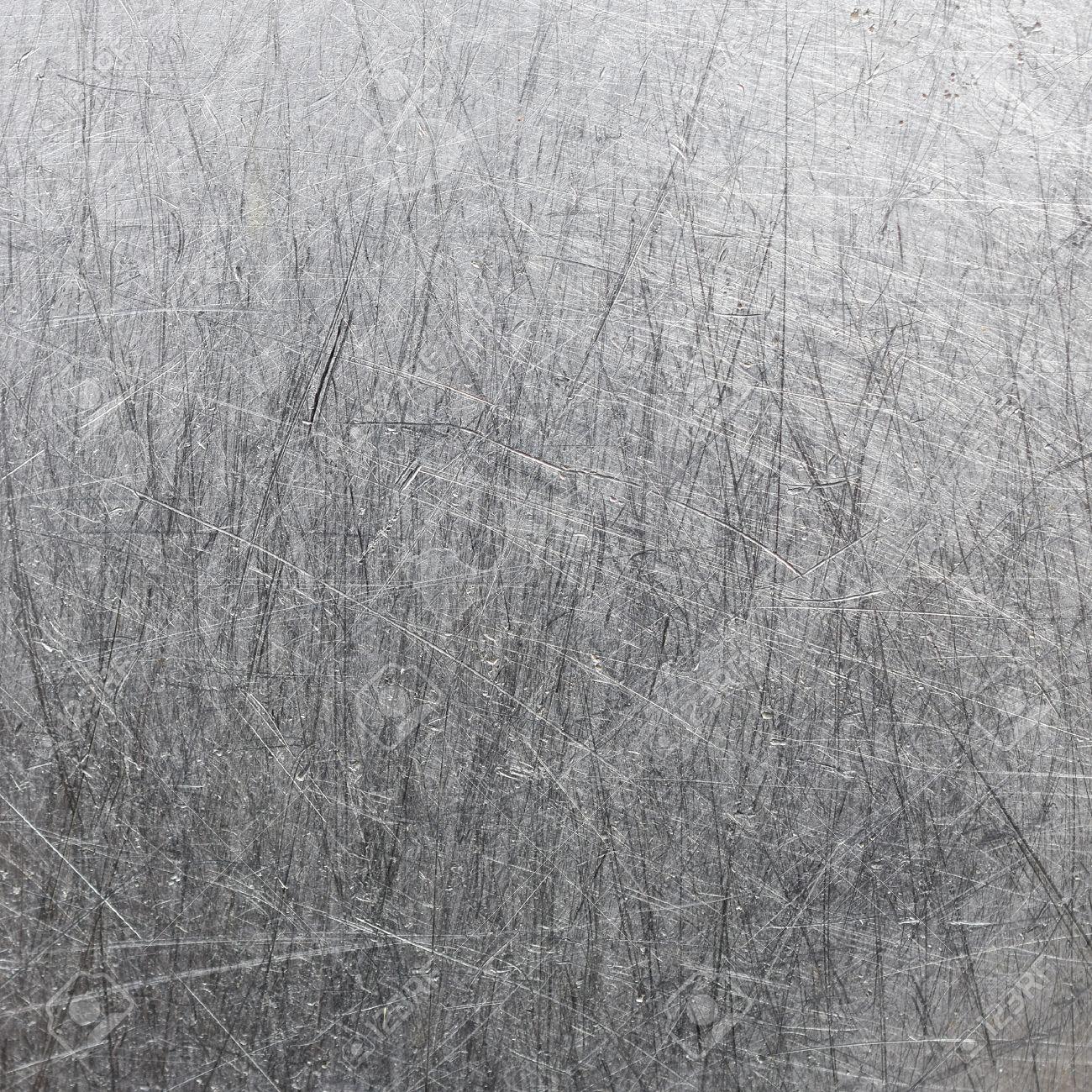 Scratched metal texture - 64275403