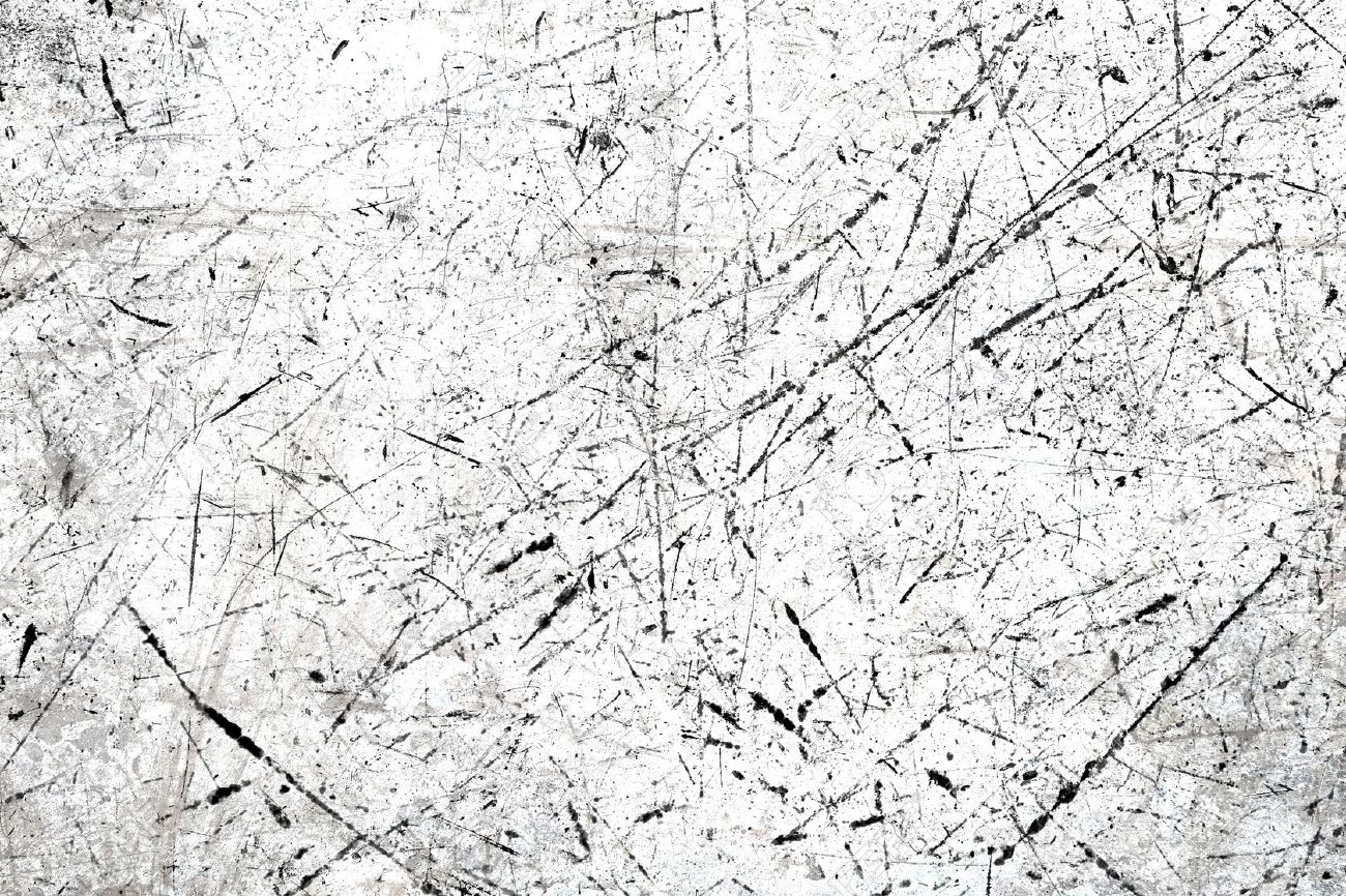 White scratched texture - 65982623