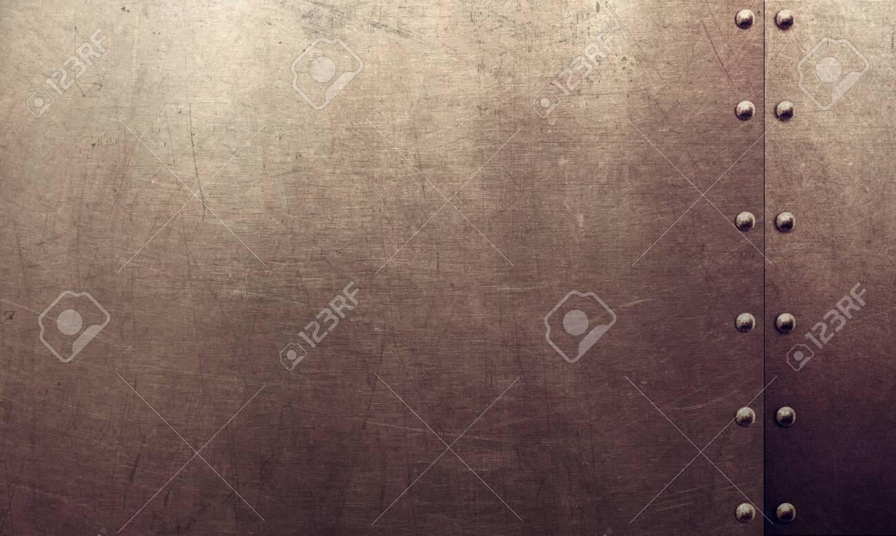 Grunge metal surface texture - 148125499