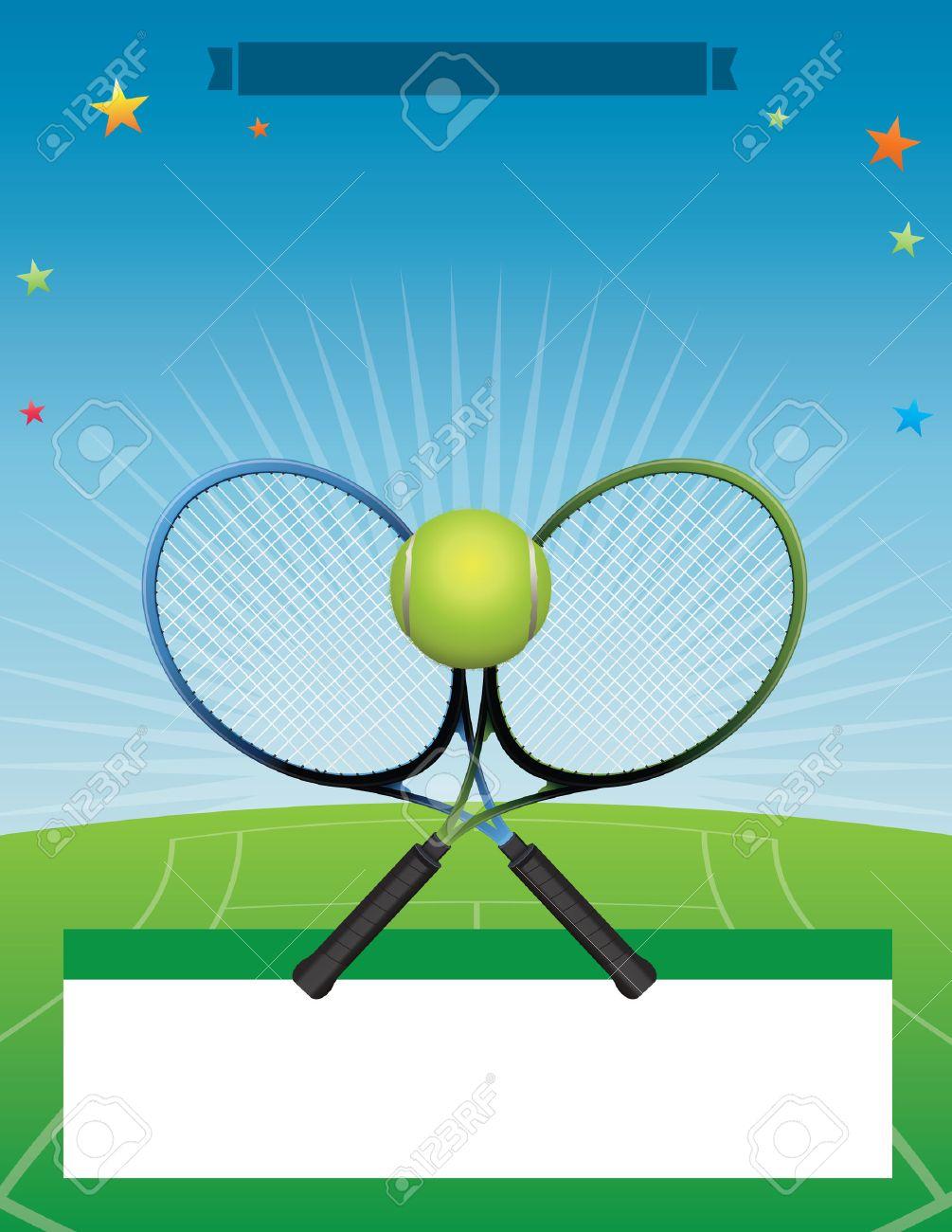 A tennis tournament illustration. - 49867950