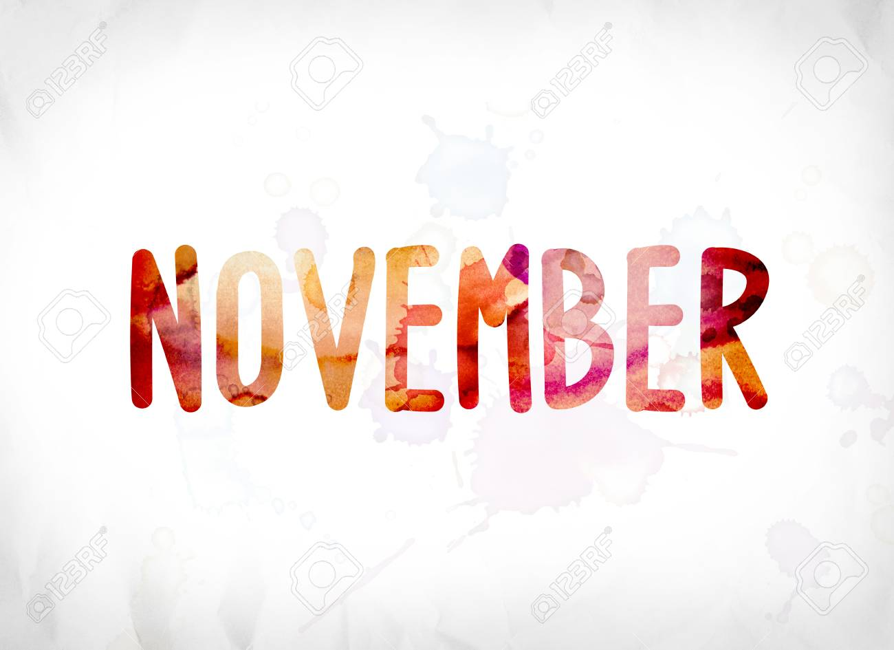 Word November pictures foto