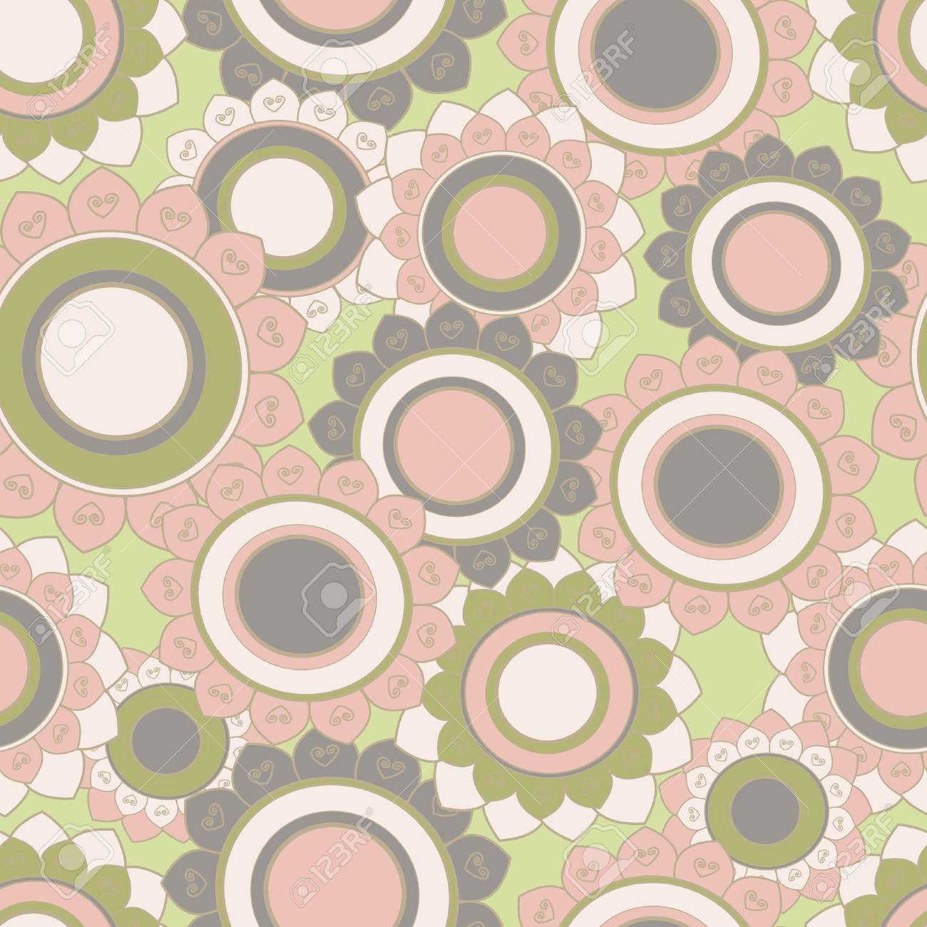 Seamless floral pattern Stock Vector - 17502310