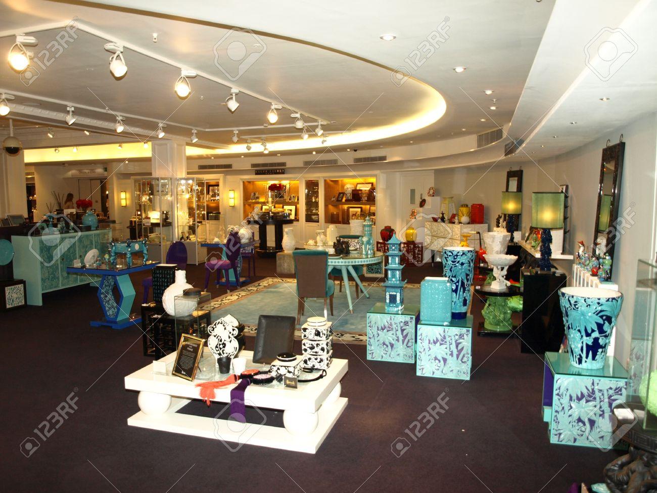 London England 8 December 2011 Harrods Department Store Of