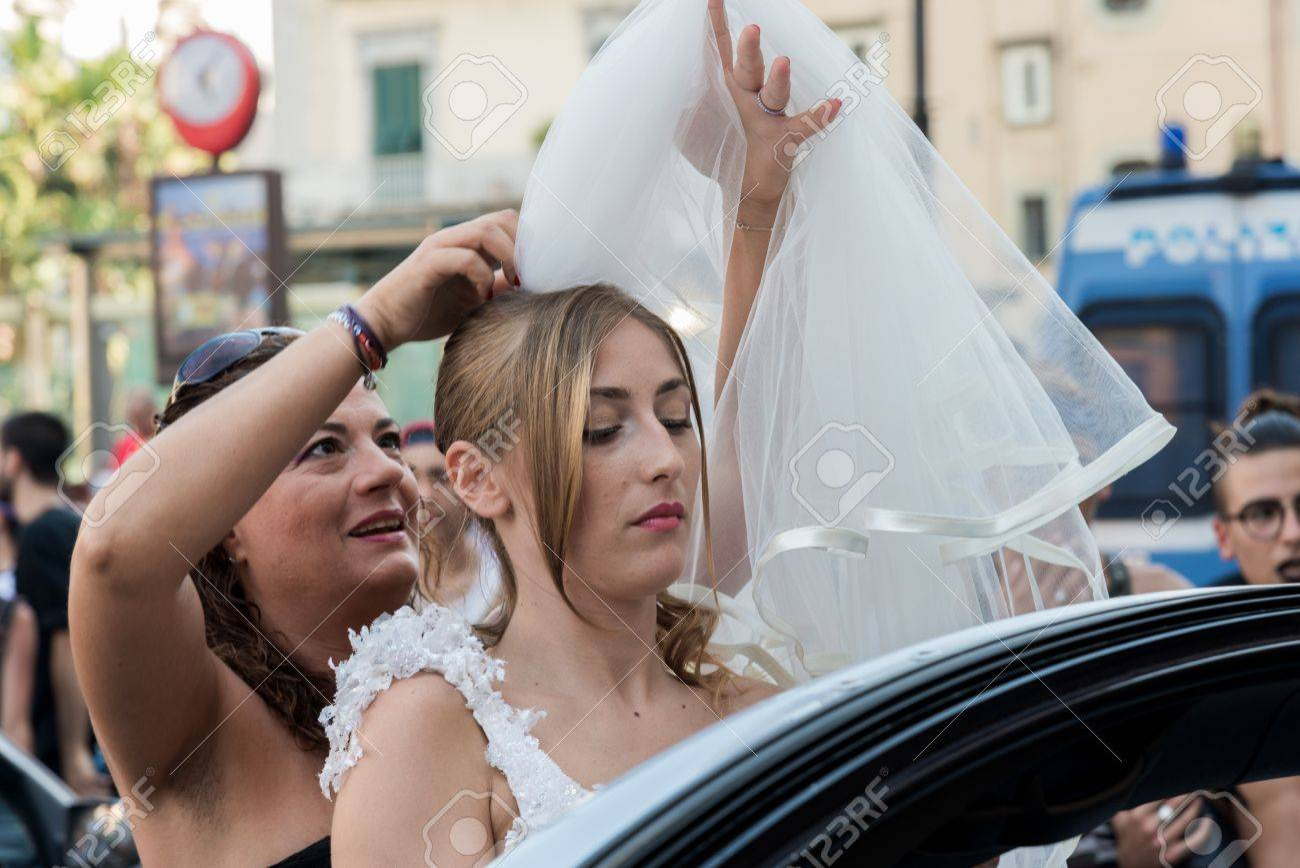 Teen girls in Naples