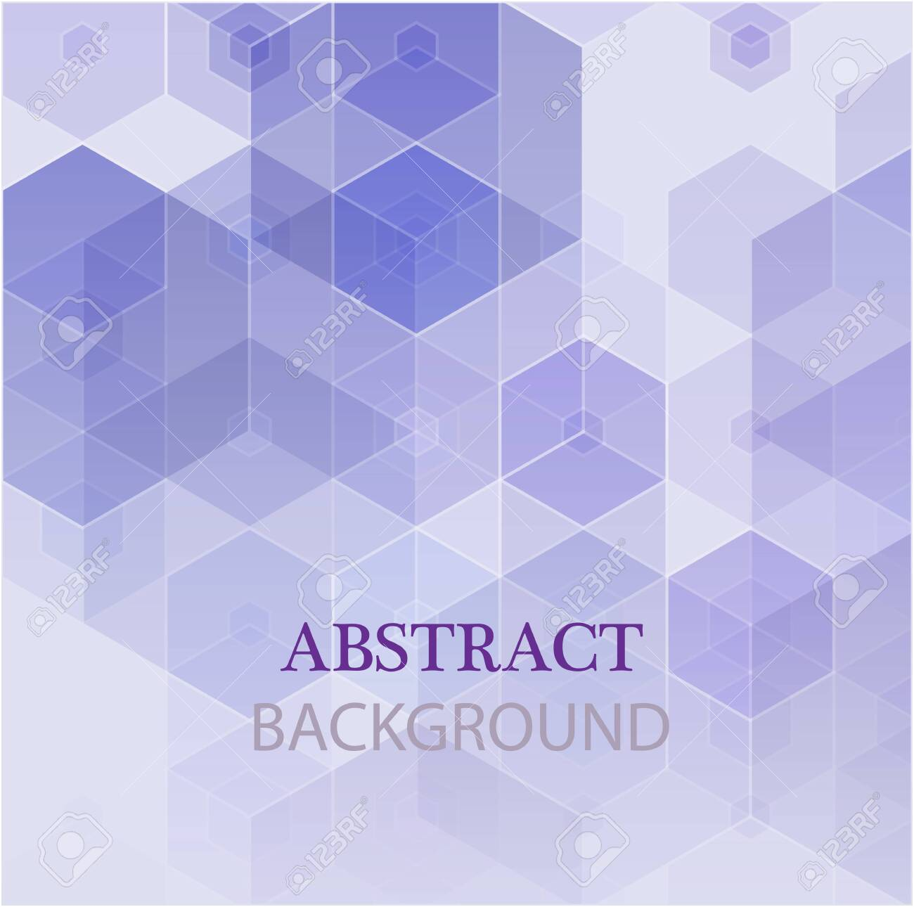 Vector Abstract geometric background. Template brochure design. - 153630927