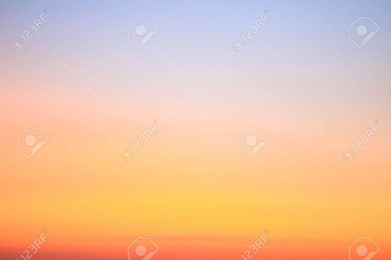 Colorful sunset sky for nature background with copy space - 169327874