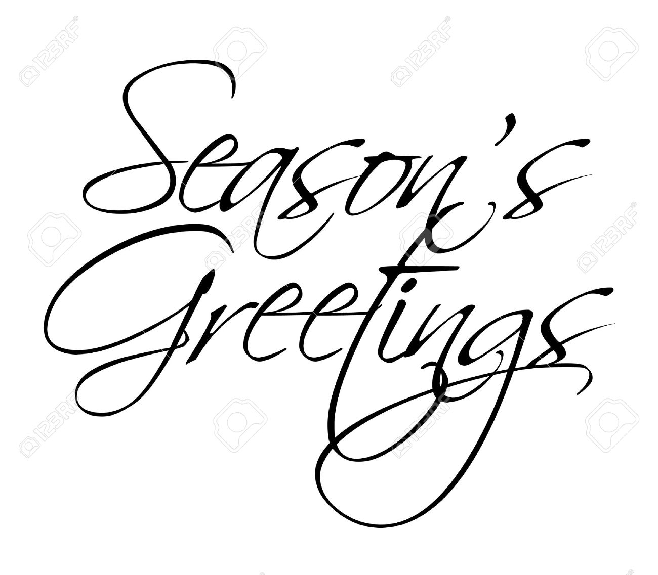 Seasons greetings vector type for seasonal use royalty free seasons greetings vector type for seasonal use stock vector 8283765 m4hsunfo
