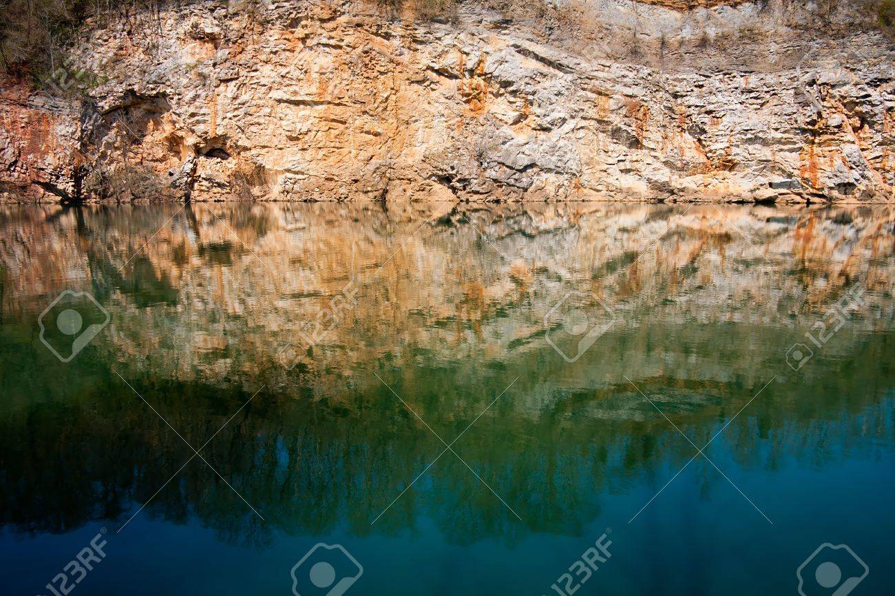 Mead S Quarry An Abandoned Marble Quarry In Knoxville Tennessee Stock Photo Picture And Royalty Free Image Image 8661583