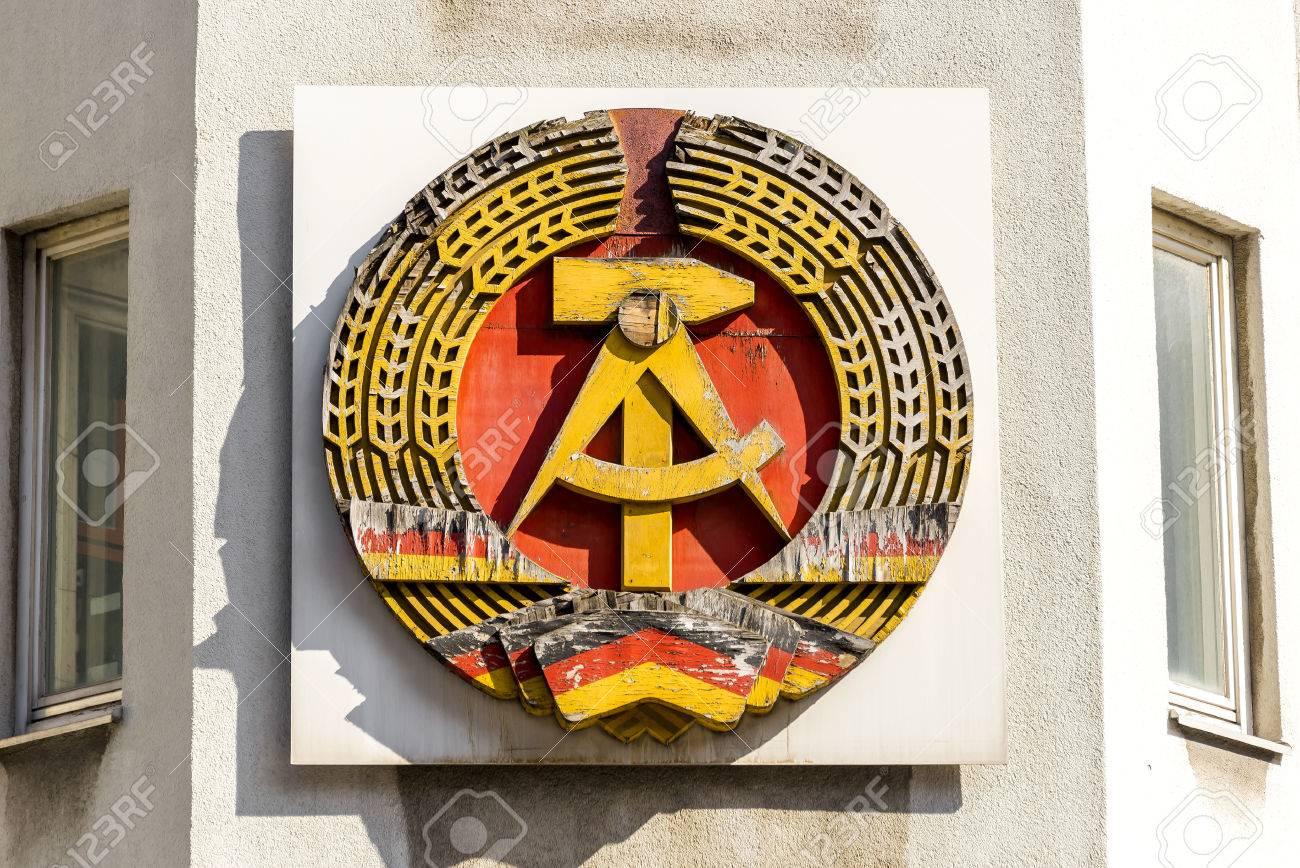 ドイツ民主共和国の国章 の写真...
