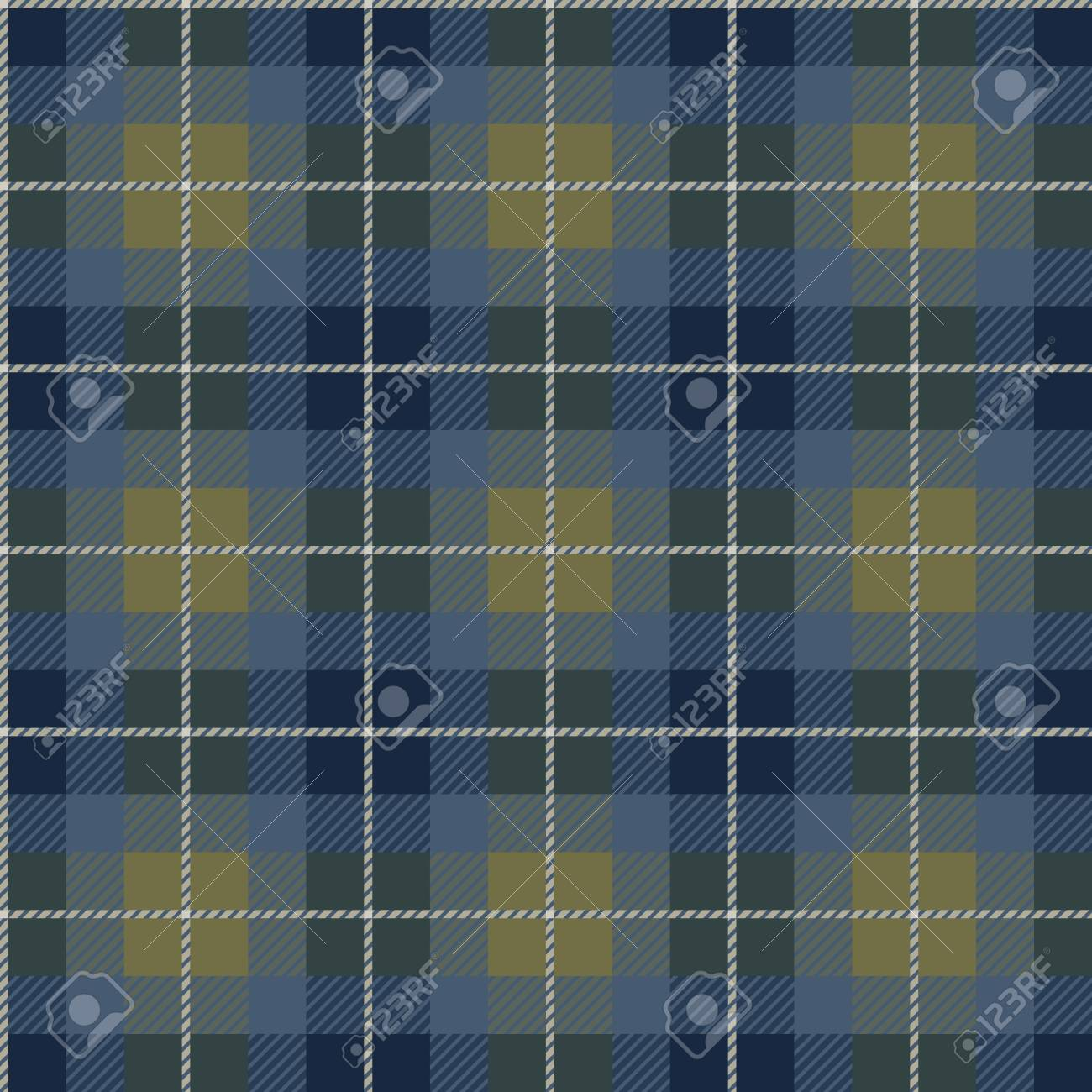 Seamless background of plaid pattern, vector illustration Stock Vector - 8774045