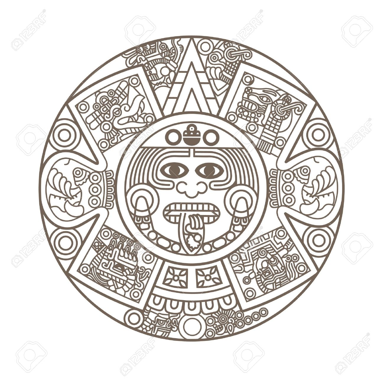Aztec symbol for strength more information djekova antiquity stylized aztec aztec symbol for strength biocorpaavc Image collections