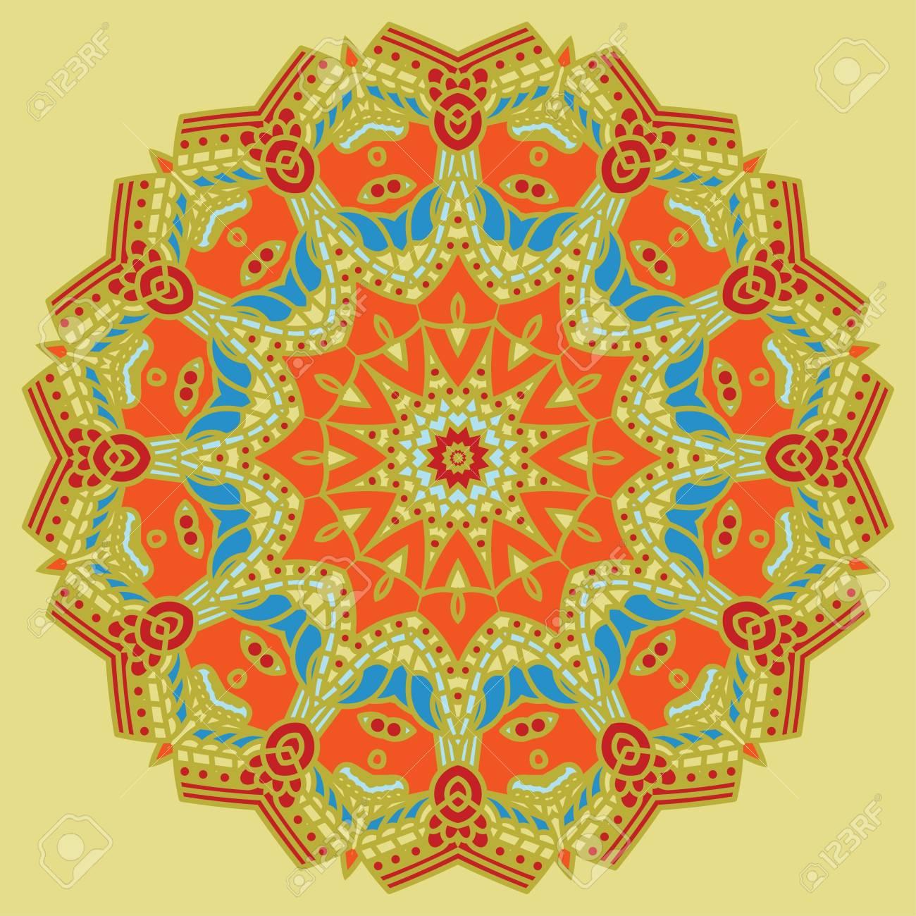 round decorative design element Stock Vector - 16145767