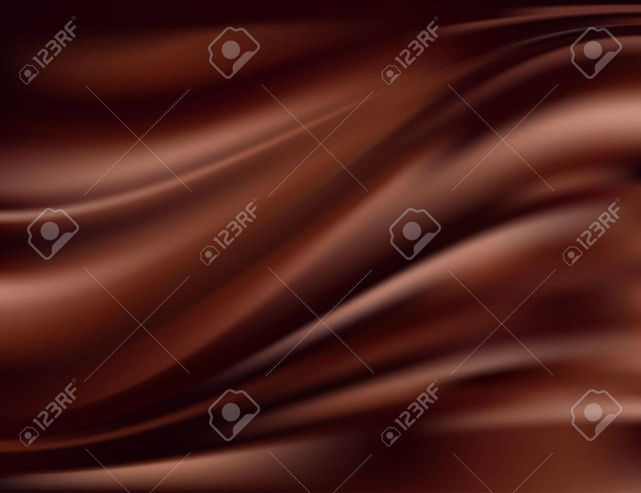 Abstract chocolate background Stock Vector - 17042161