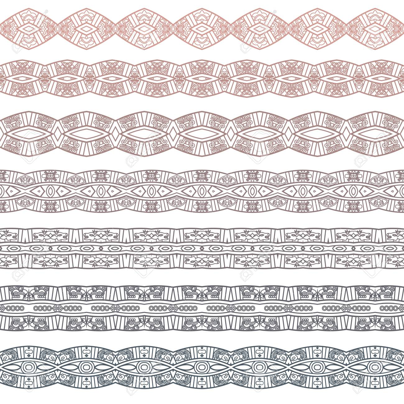 Ornamental seamless pattern Stock Vector - 17421843