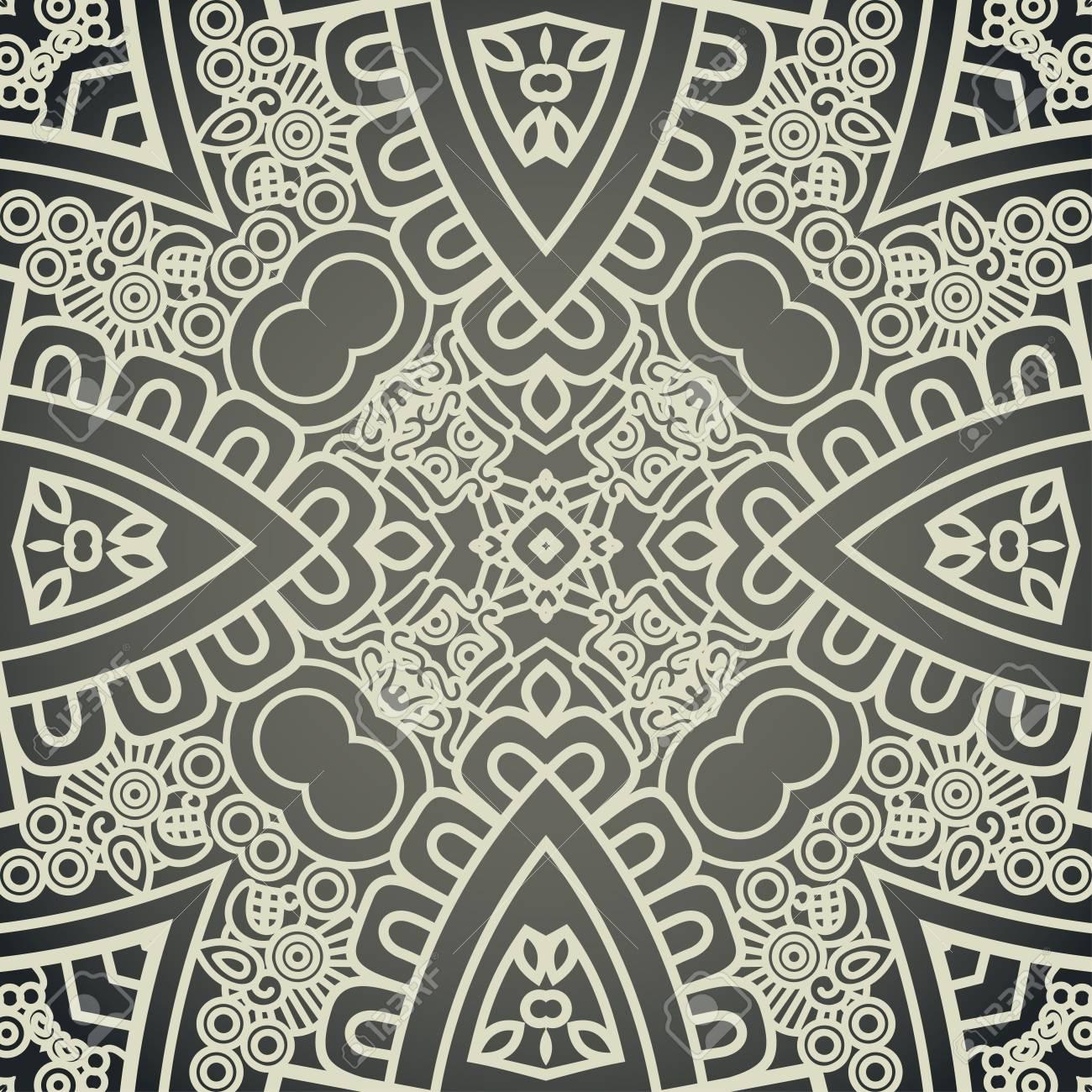 Vector Square Decorative Design Element Stock Vector - 18763781
