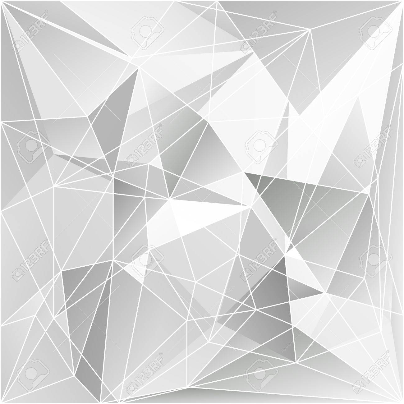 Abstract Triangle Background Stock Vector - 21330511