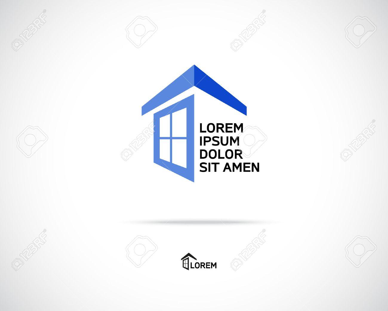 Assez Maison Résumé Immobilier Campagne Logo Modèle De Conception Pour L  LN78