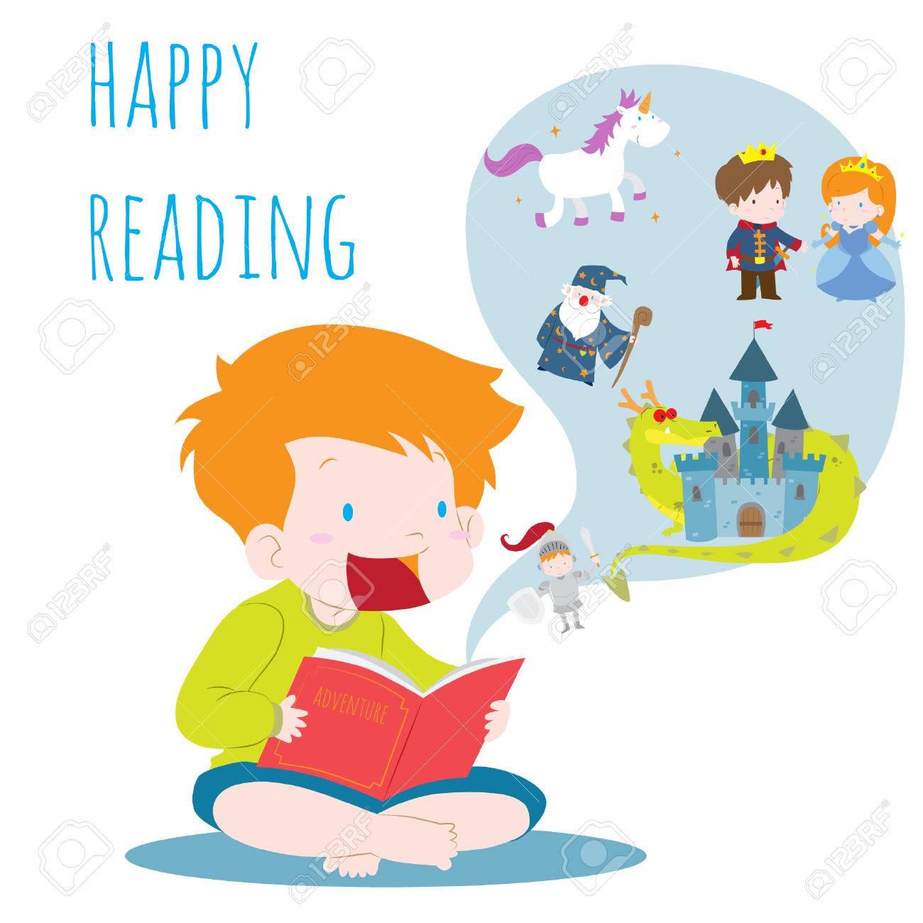 Reading Imagination Clip Art