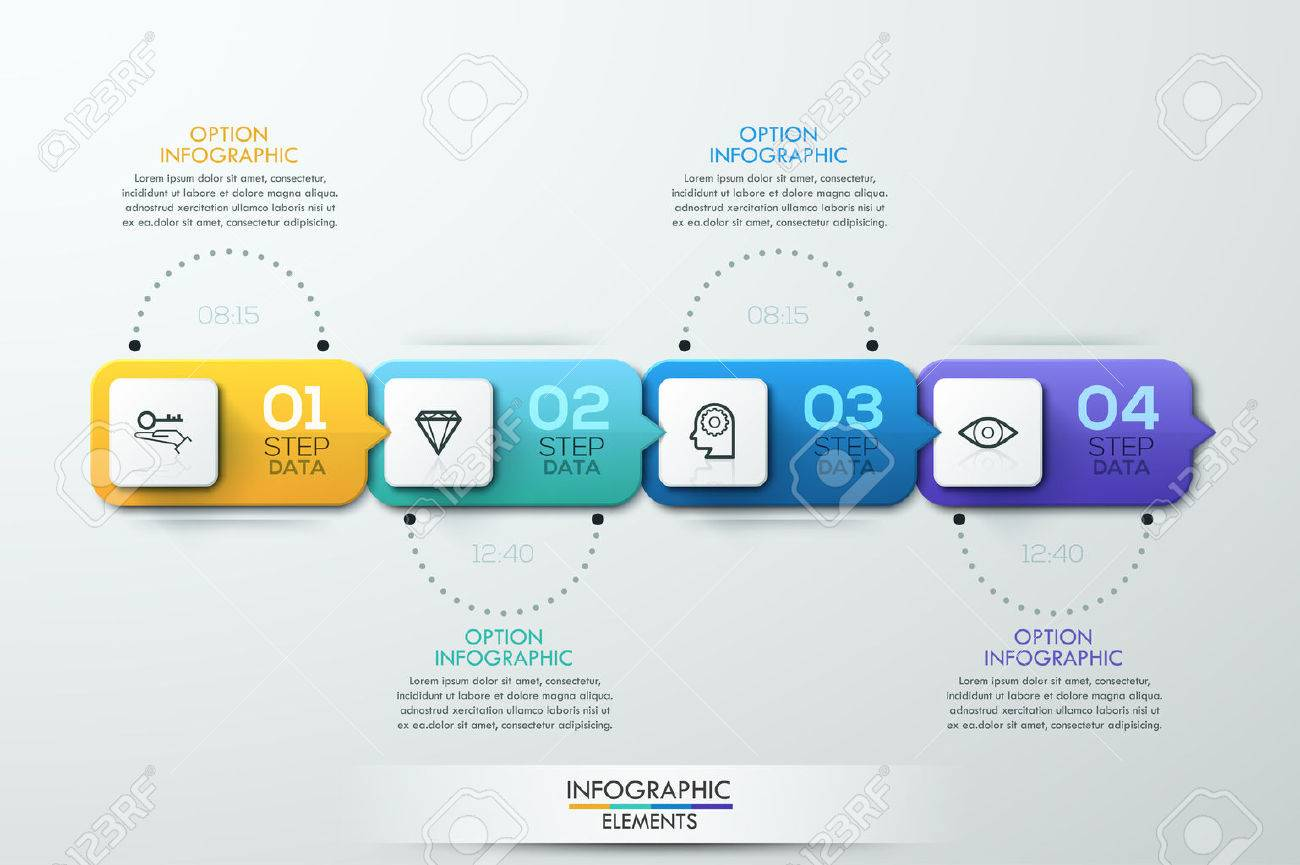 Business Timeline Infographic Template Can Be Used For Workflow - Business timeline template