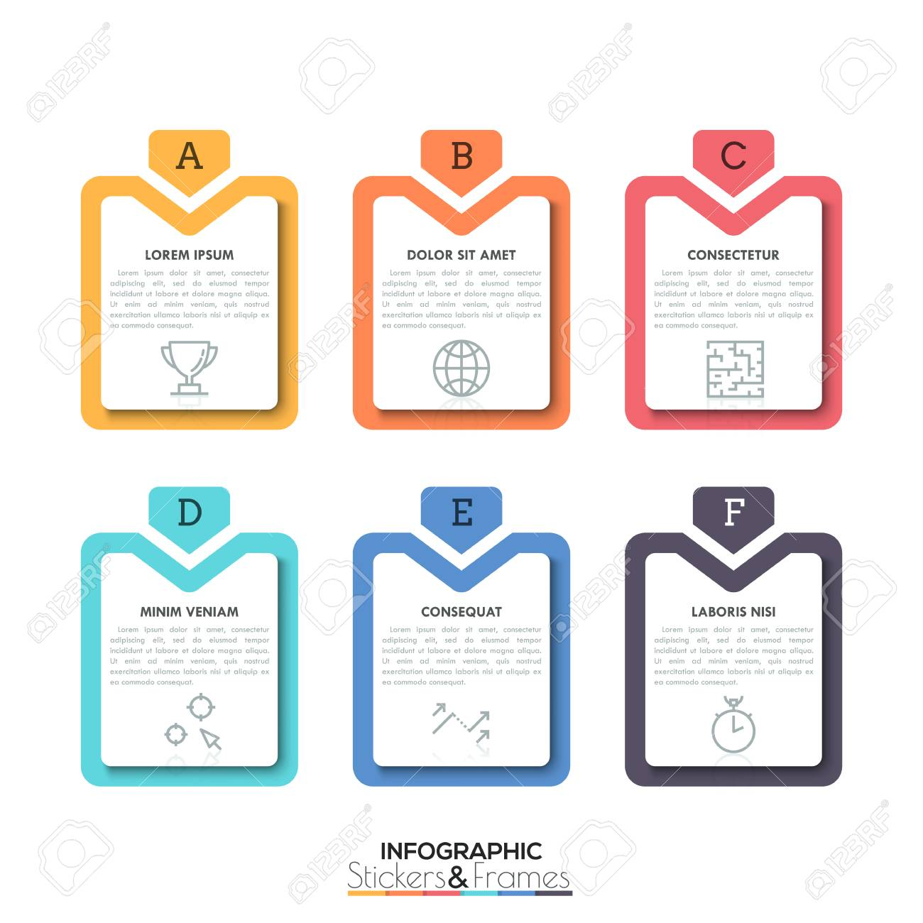 six elements of business letters