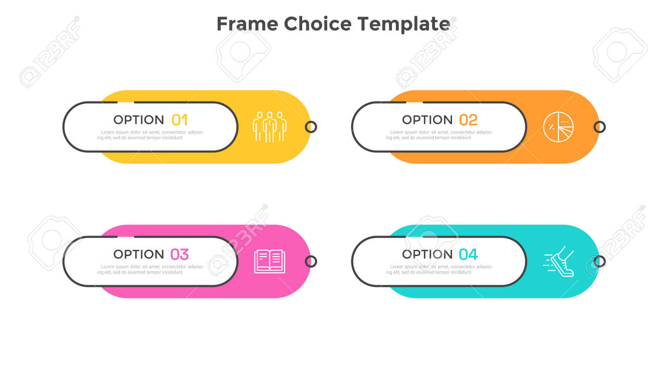 Modern Infographic Vector Template - 166188335