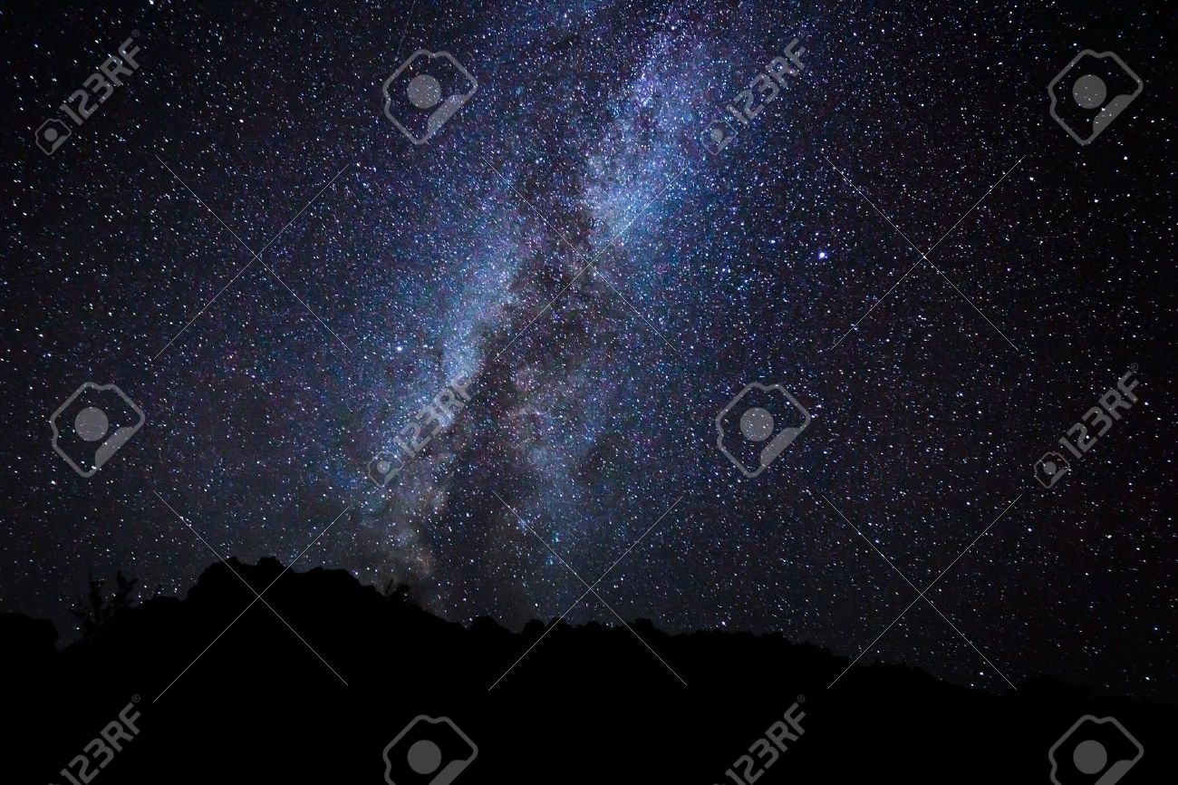 Night Sky Stars Milky Way Stars in The Night Sky