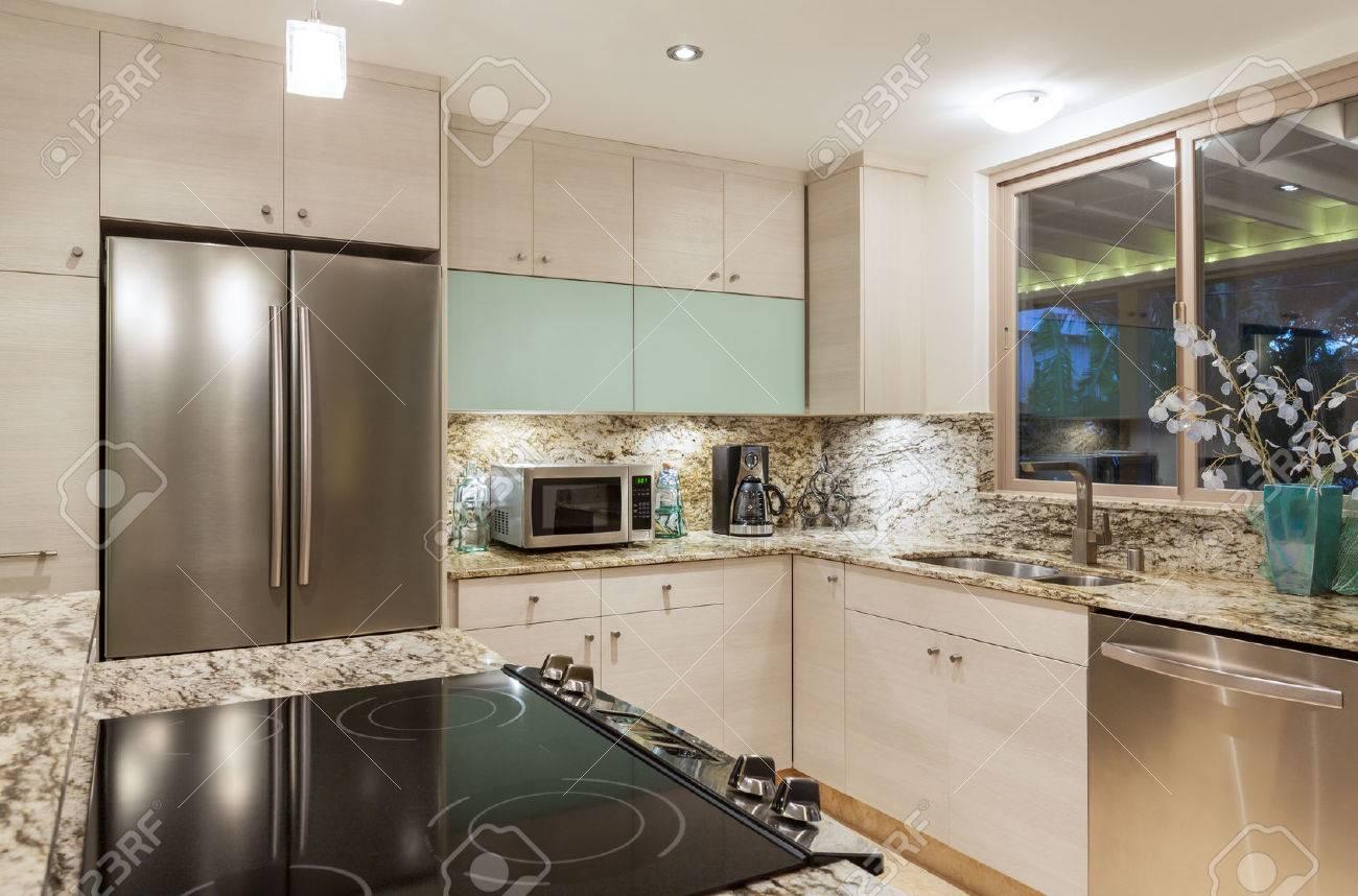 Cuisine moderne contemporaine Intérieur de maison