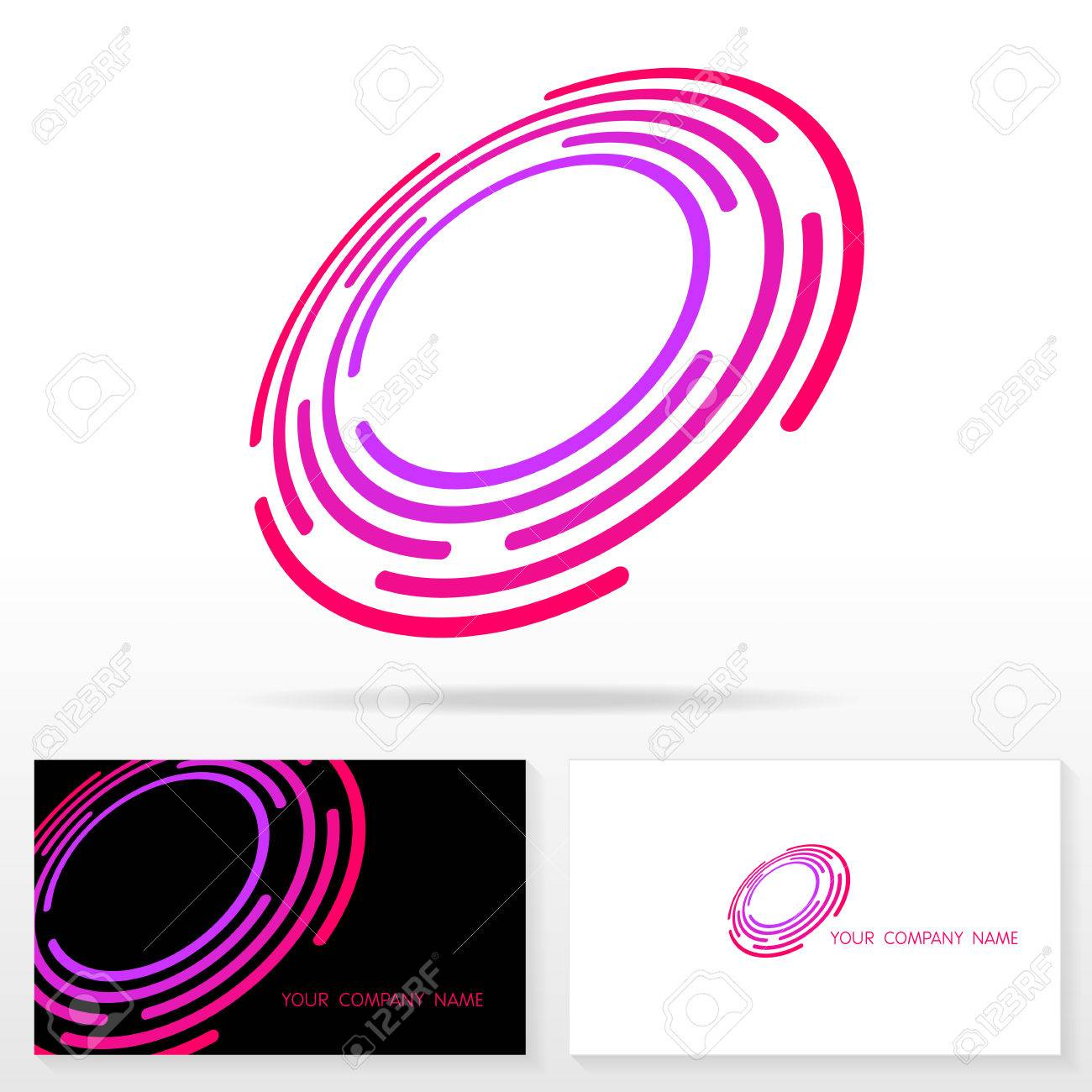 letter o logo icon design template elements illustration letter