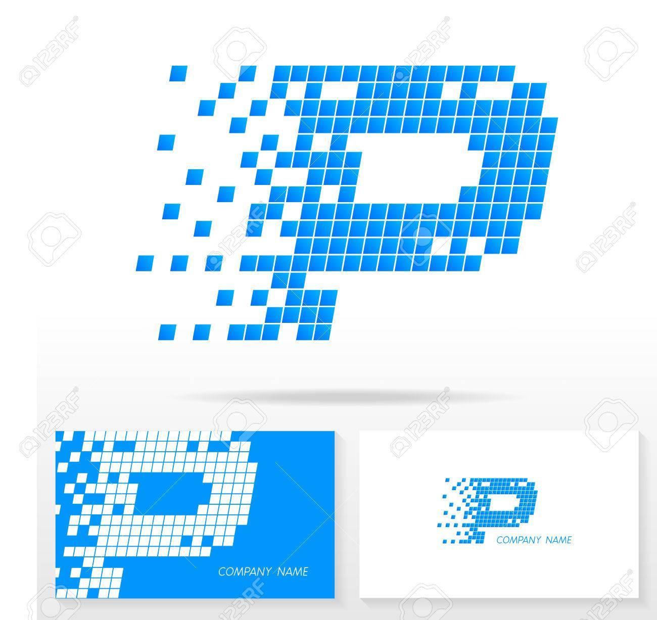 Letter P Logo Icon Design Template Elements Illustration. Letter ...