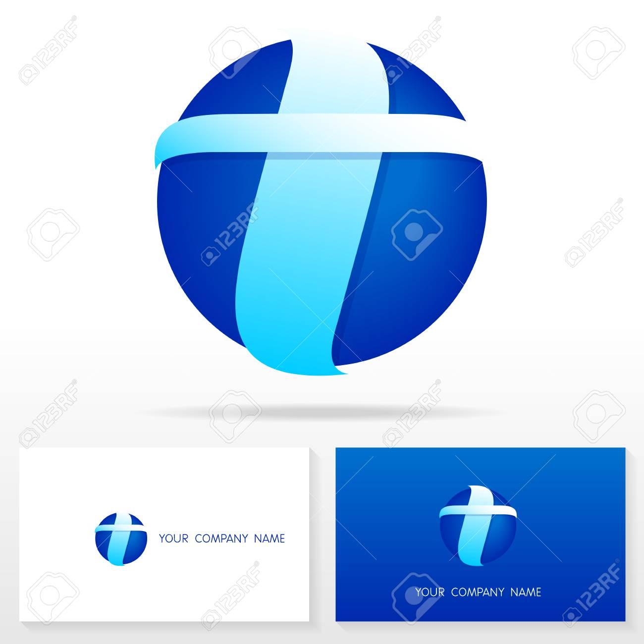 Letra T Logo Icono De Elementos De Plantilla De Diseño Ilustración ...
