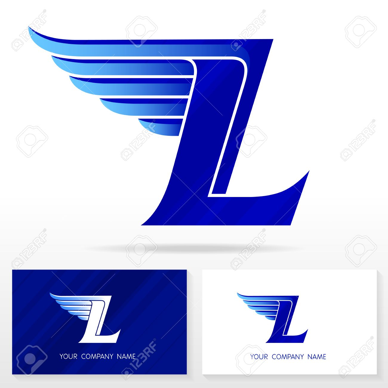 Letter l logo design business vector sign business card templates letter l logo design business vector sign business card templates stock vector reheart