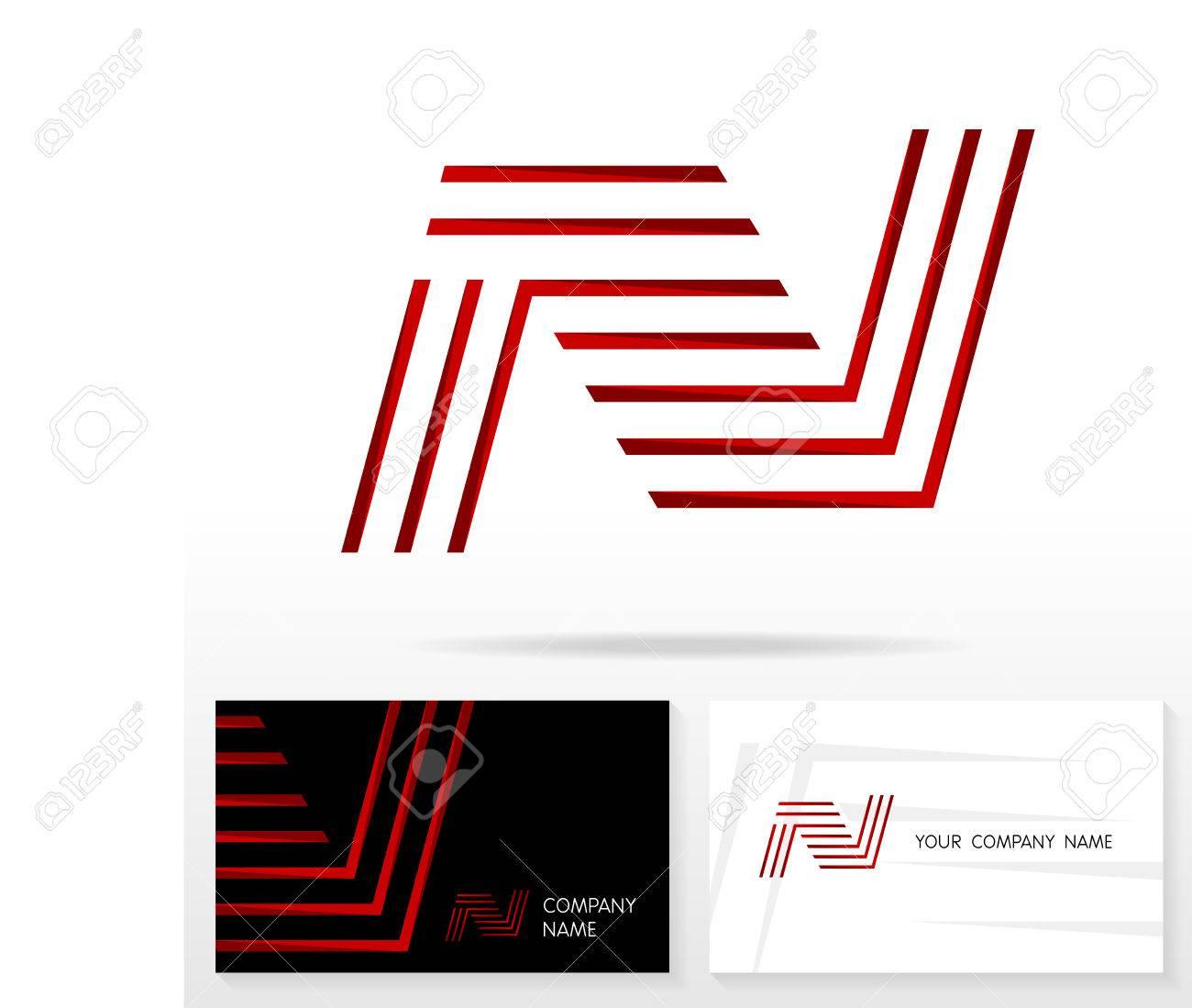 Letter n logo design vector sign stock vector business card letter n logo design vector sign stock vector business card templates stock vector spiritdancerdesigns Choice Image