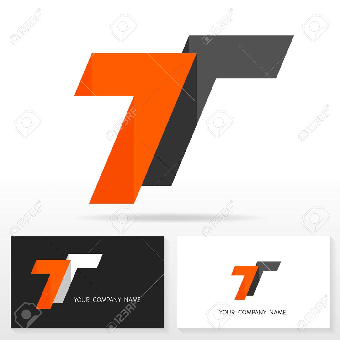 Letter t logo design vector sign business card templates royalty letter t logo design vector sign business card templates stock vector 49154525 wajeb Gallery
