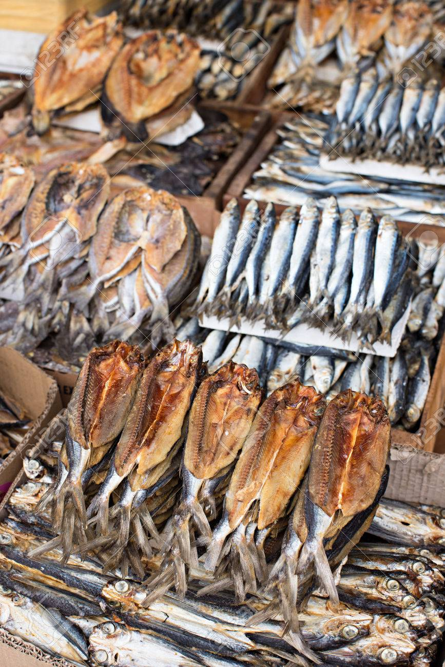 Dried Fish At The Public Market In General Santos City The Philippines Stock Photo Picture And Royalty Free Image Image 40371331