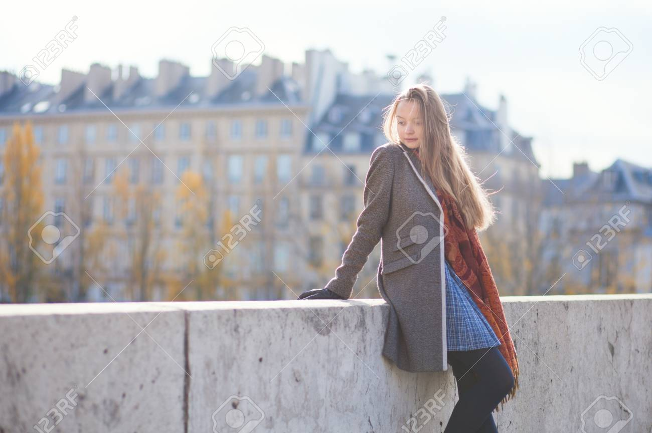 Beautiful young lady with long hair Stock Photo - 16521544