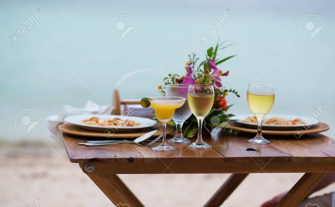 Romantic Dinner For Two Stock Photos & Pictures. Royalty Free ...