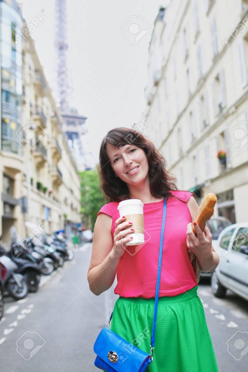 Jeune femme francaise