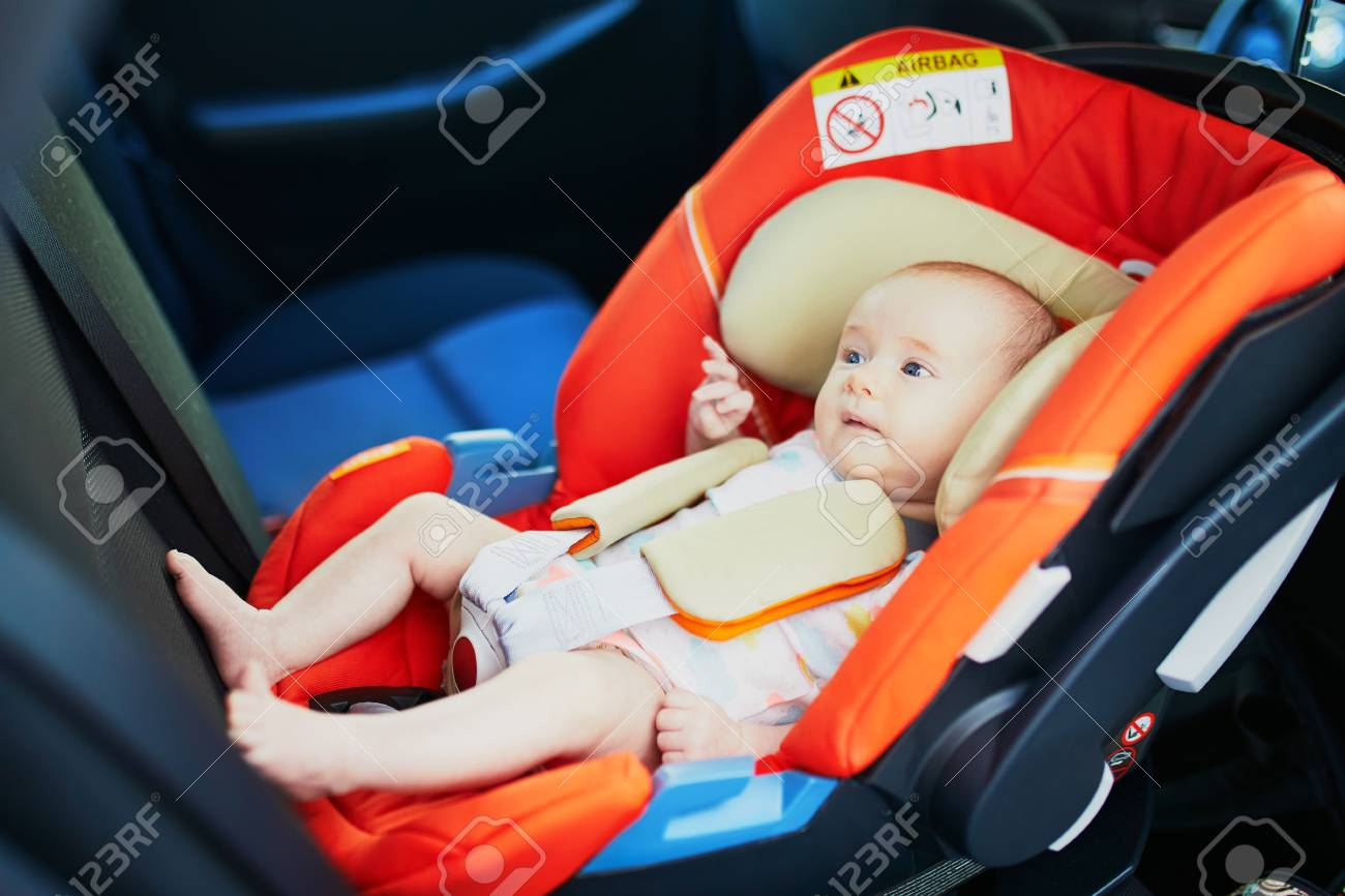 2 Month Old Baby Girl In Car Seat Safe Car Trips For Infants