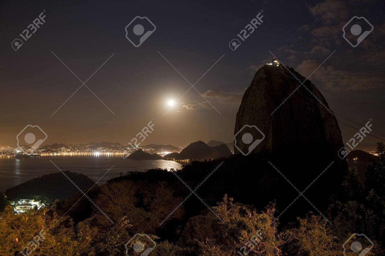 Sugarloaf Mountain Rio De Janeiro Brazil Stock Photo - 6152004