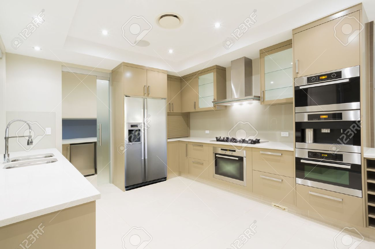 Australian Kitchen Modern Kitchen With Stainless Steel Appliances In Australian