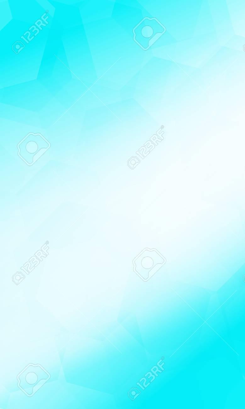 Polygon Background White Blue Color Vector Illustration Vertical