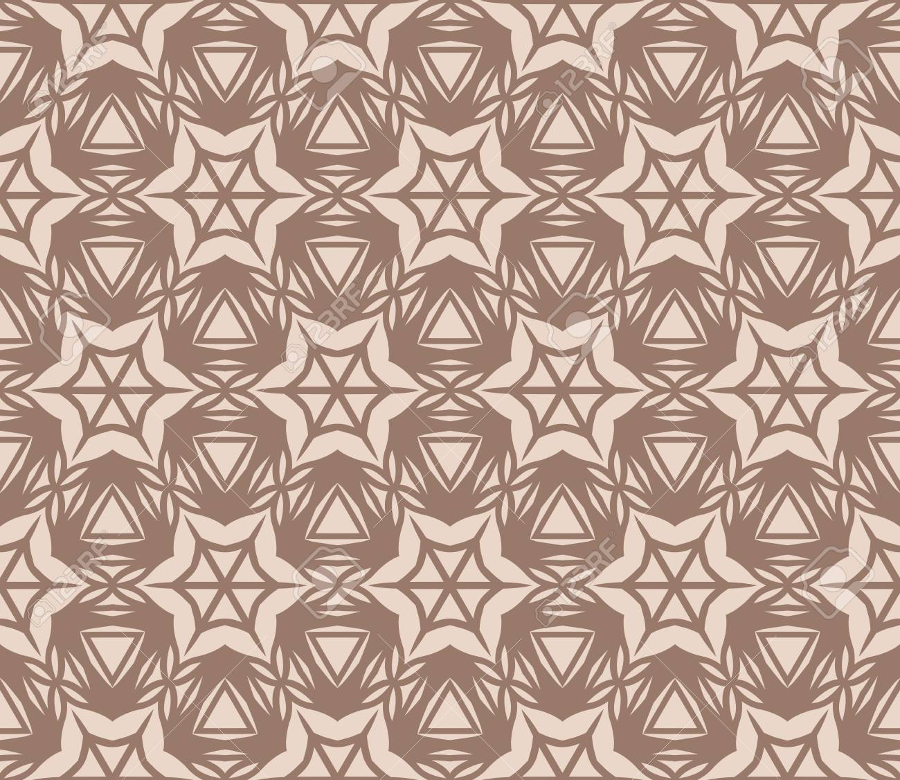 Abstract Seamless Pattern Geometry Design Vector Texture For