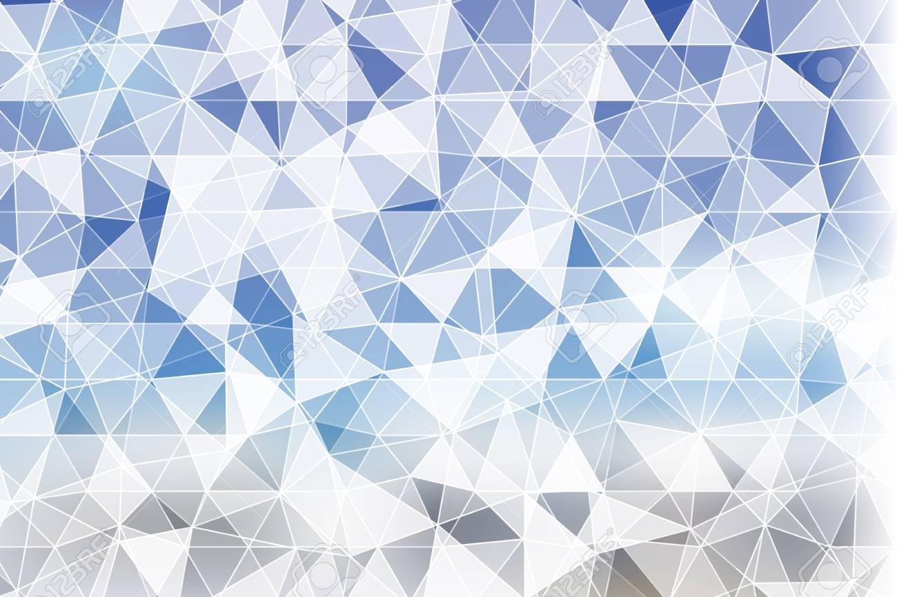 Light Blue Polygonal Background Vector Illustration For Design Business Cover Card Wallpaper