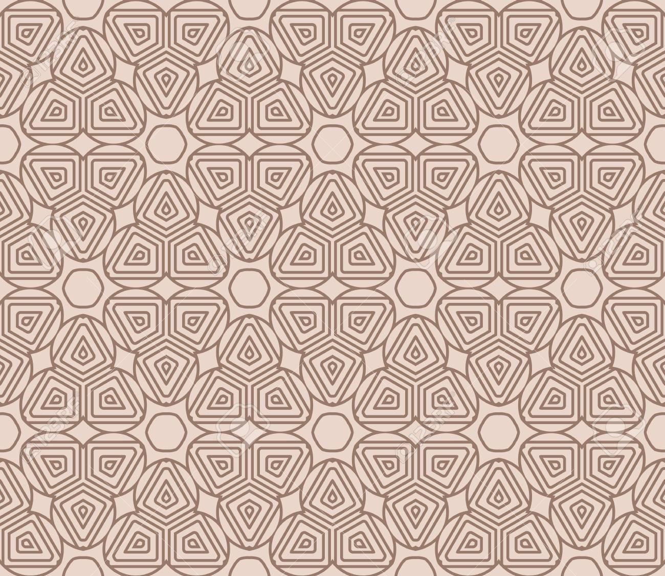 vector illustration. new modern geometric pattern. seamless design for scrapbooking, background, interior - 101700696