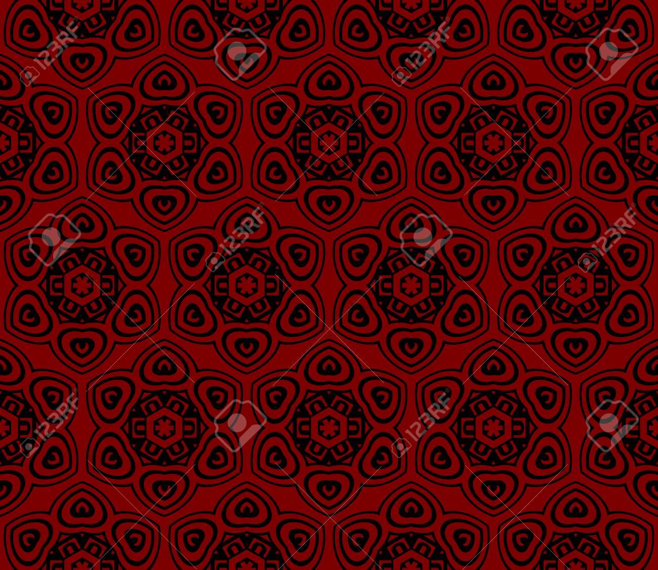 vector illustration. new modern geometric pattern. seamless design for scrapbooking, background, interior - 101701067