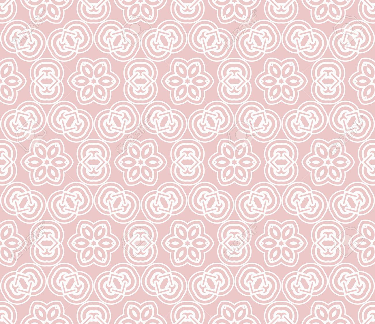 vector illustration. new modern geometric pattern. seamless design for scrapbooking, background, interior - 101701095