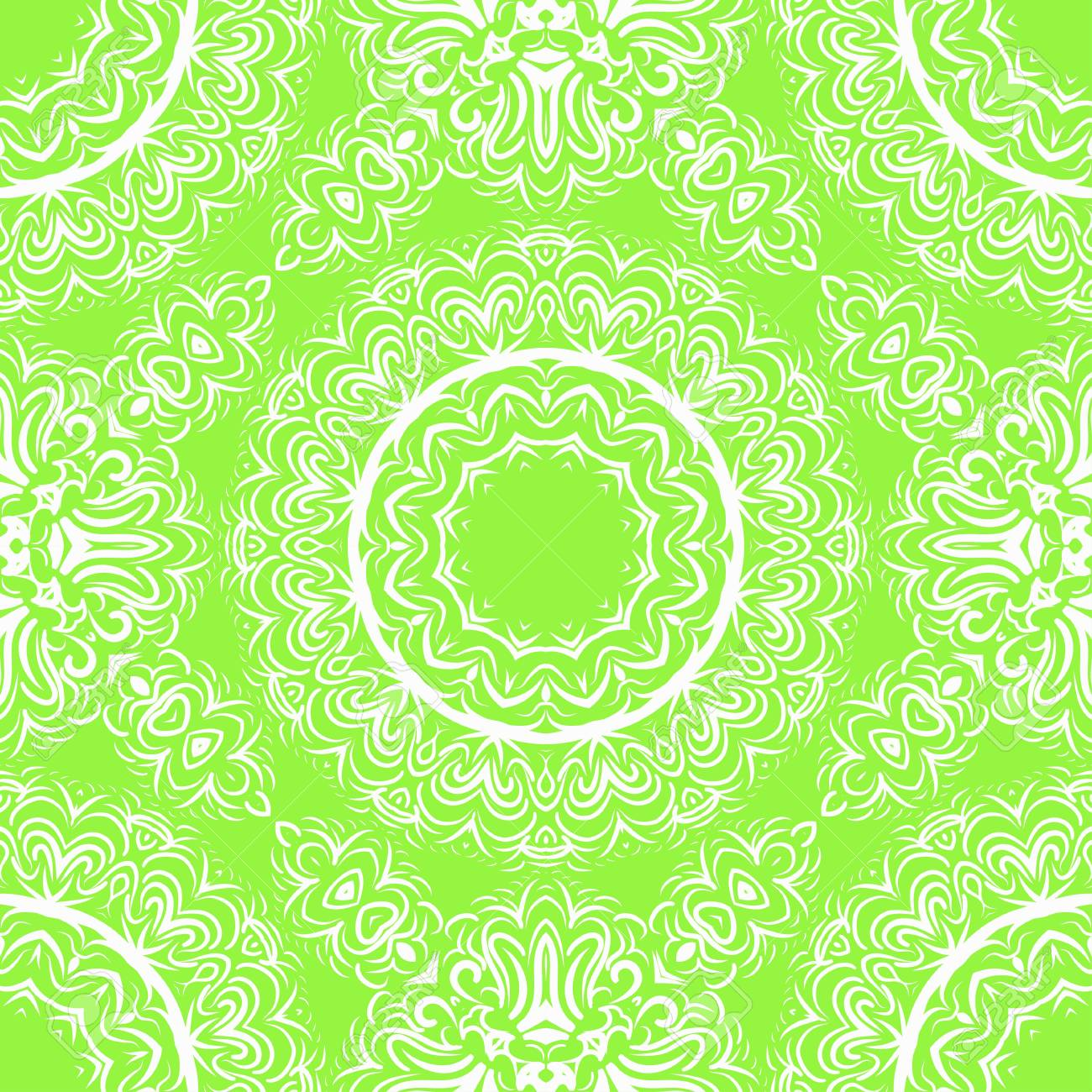 image relating to Decorative Paper Printable known as Flower mandala. Printable ornamental resources. Vector case in point..