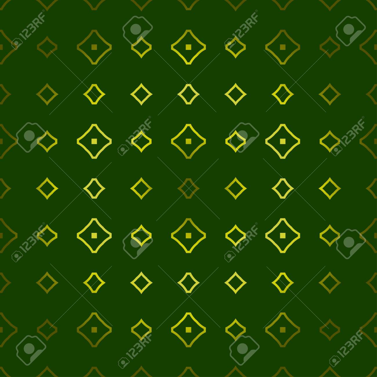 Vector Seamless Pattern With Abstract Geometric Style Repeating