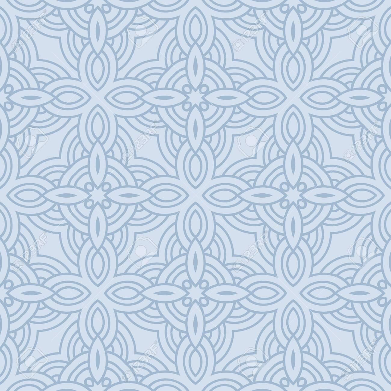 Unique, Abstract Geometric Color Pattern. Seamless Vector Illustration. For Fantastic Design, Wallpaper, Background, Fantastic Print - 122888282